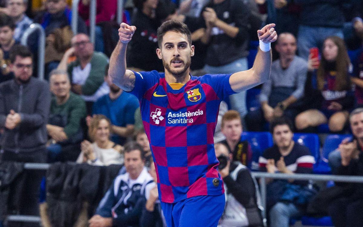 Barça - ElPozo: L'esforç porta la festivitat (2-1)