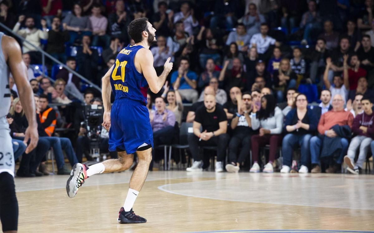 Barça 80-67 ASVEL Villeurbanne: With a firm step in the Euroleague