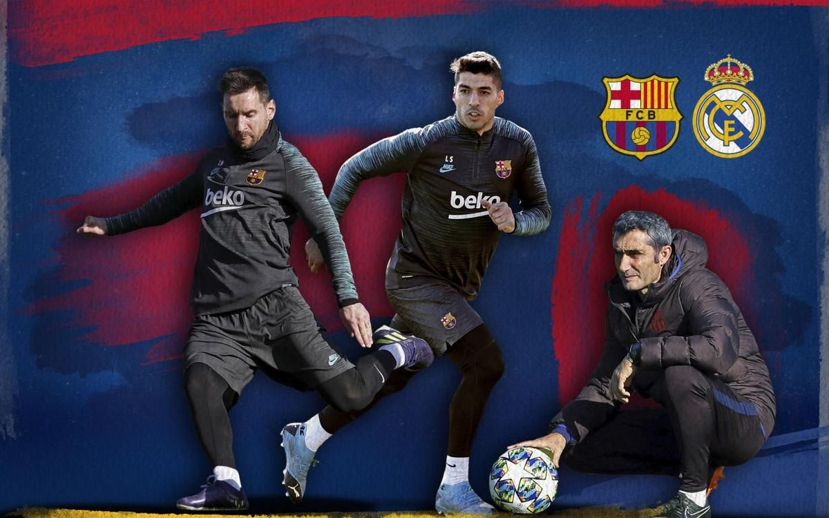 EL CLÁSICO: The build up the day before