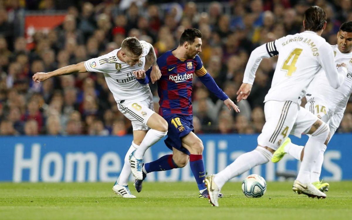 7 matches sans défaite lors des Clasicos
