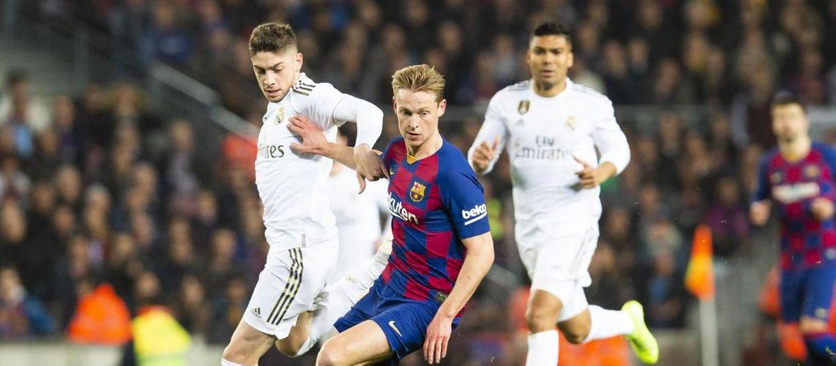 Els possibles 'debutants' en un Clàssic al Bernabéu
