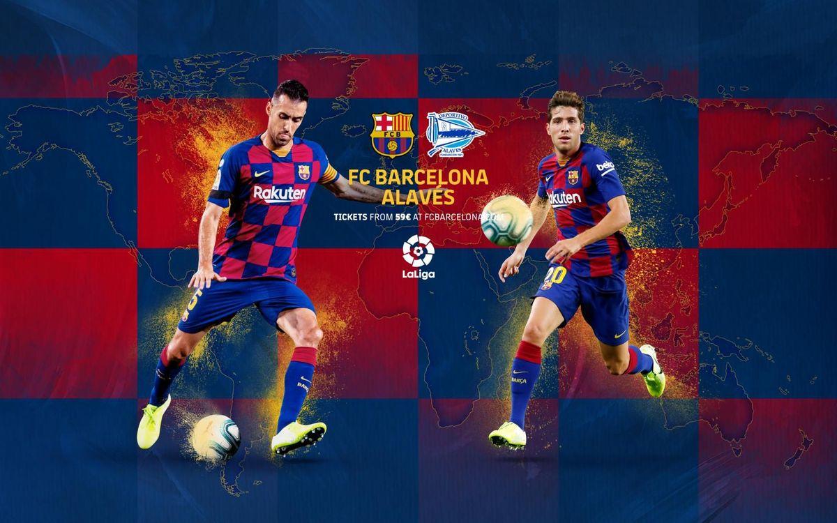 Cuándo y dónde ver el FC Barcelona - Alavés