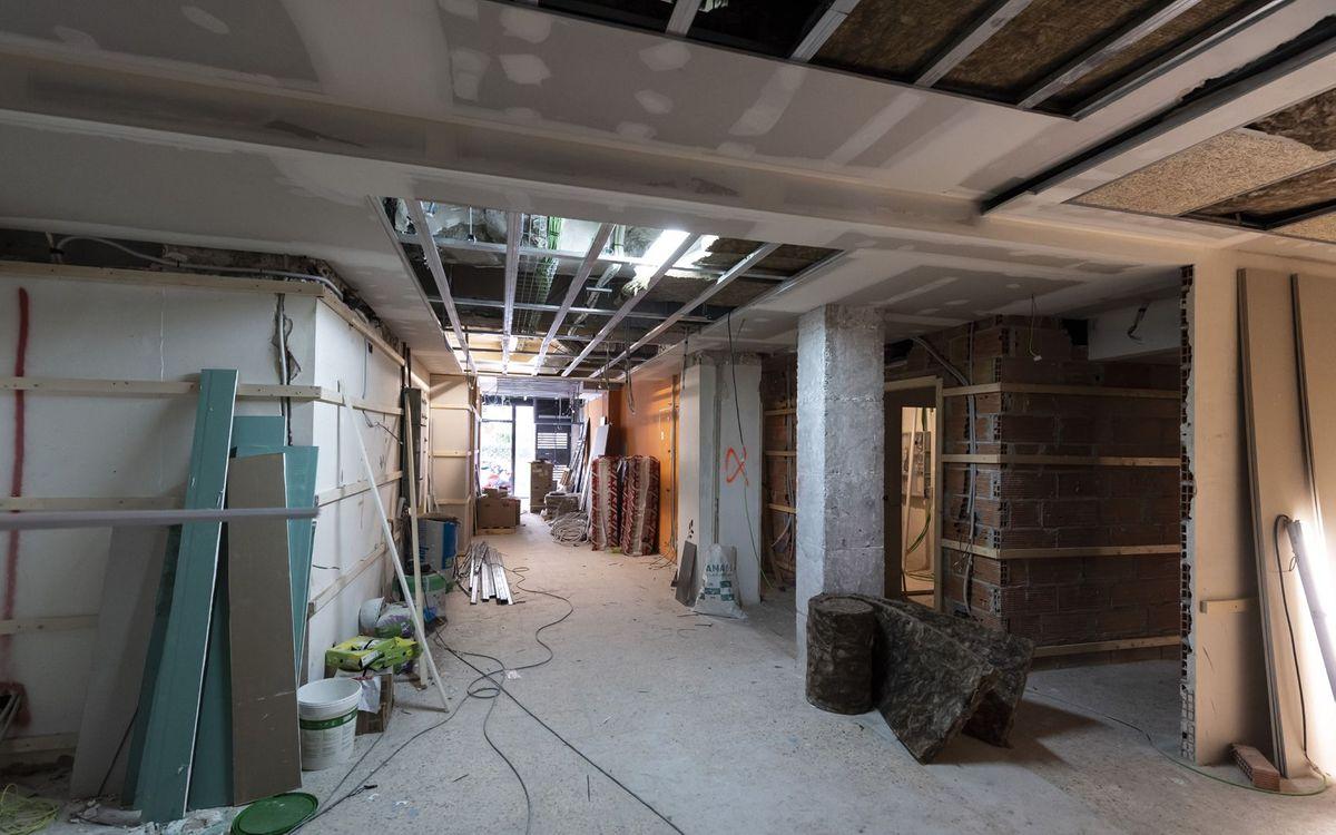 Las obras de la nueva sede de la Agrupación avanzan a buen ritmo