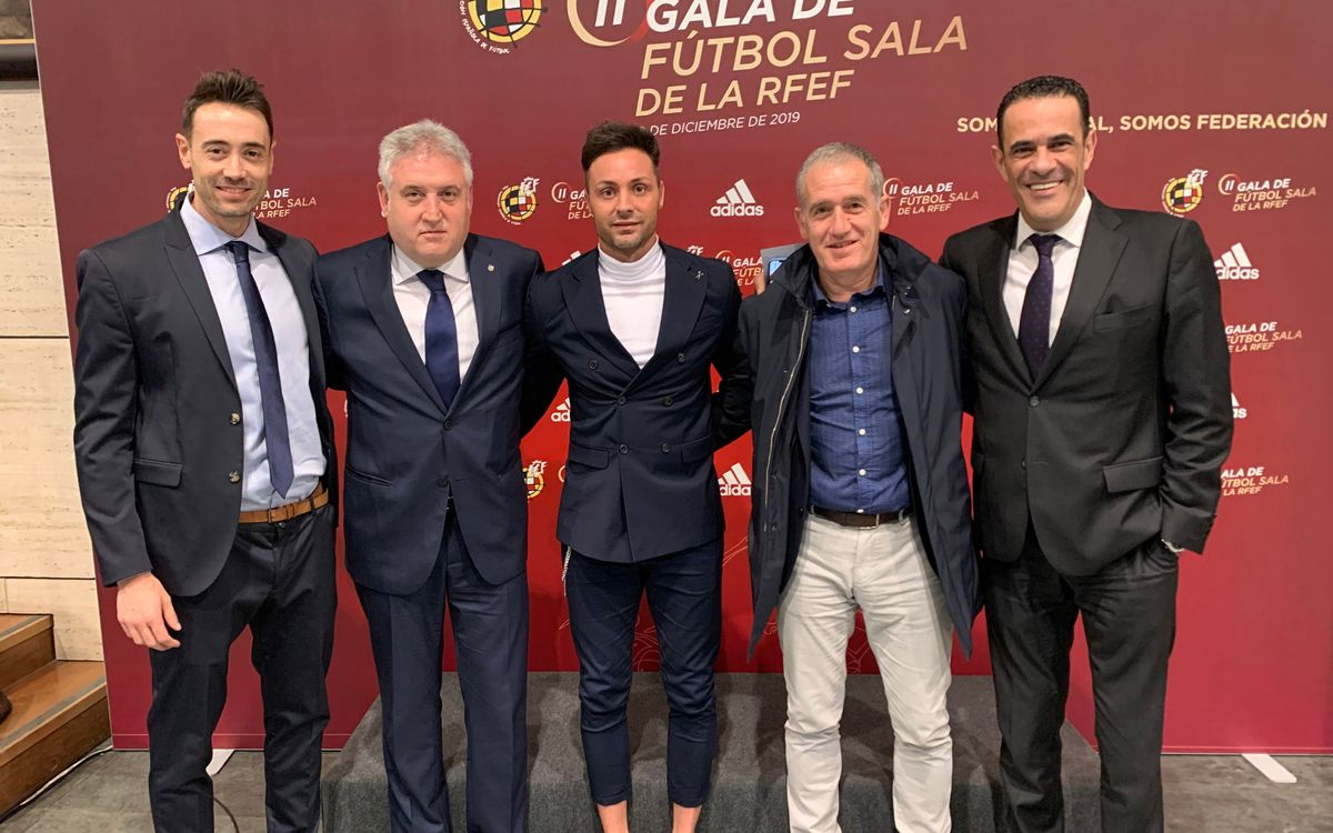 El Barça, protagonista en la Gala del Fútbol Sala de la RFEF