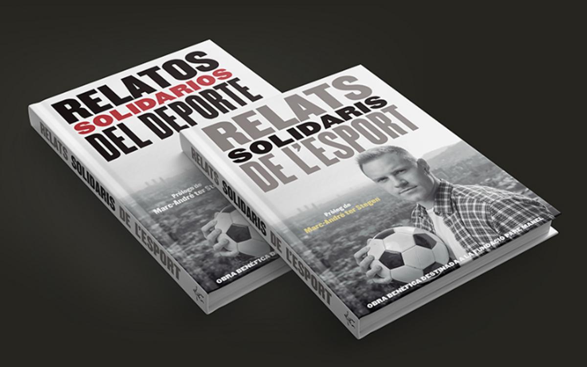 El libro solidario apadrinado por Ter Stegen, protagonista en el Barça-Alavés