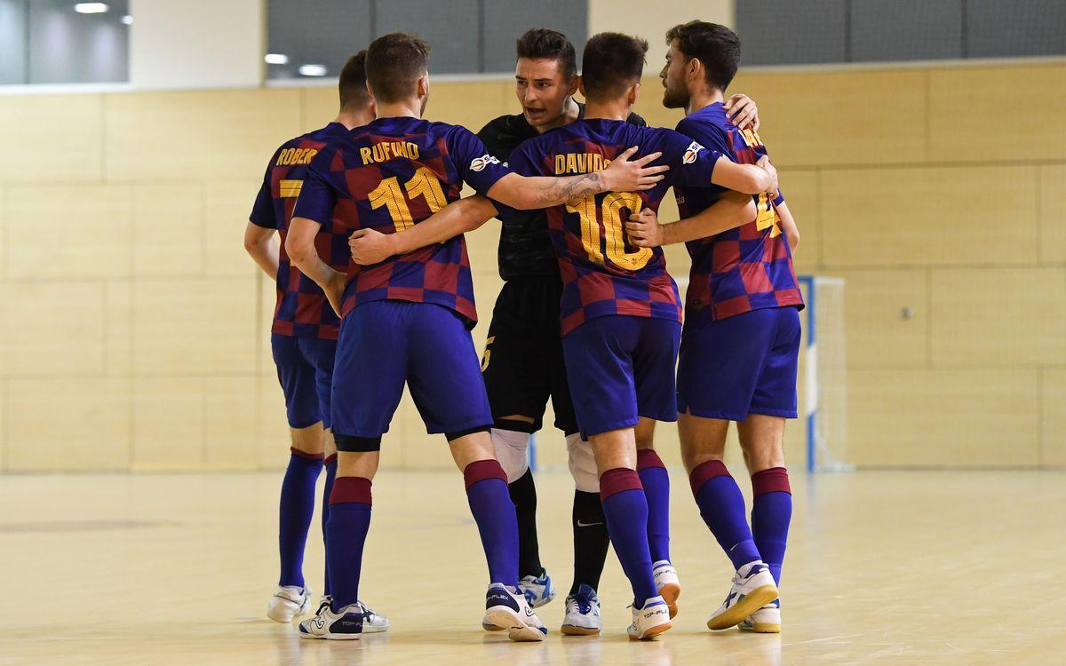 Barça B – Ciudad de Móstoles (2-3): Derrota cruel per tancar la 1a volta