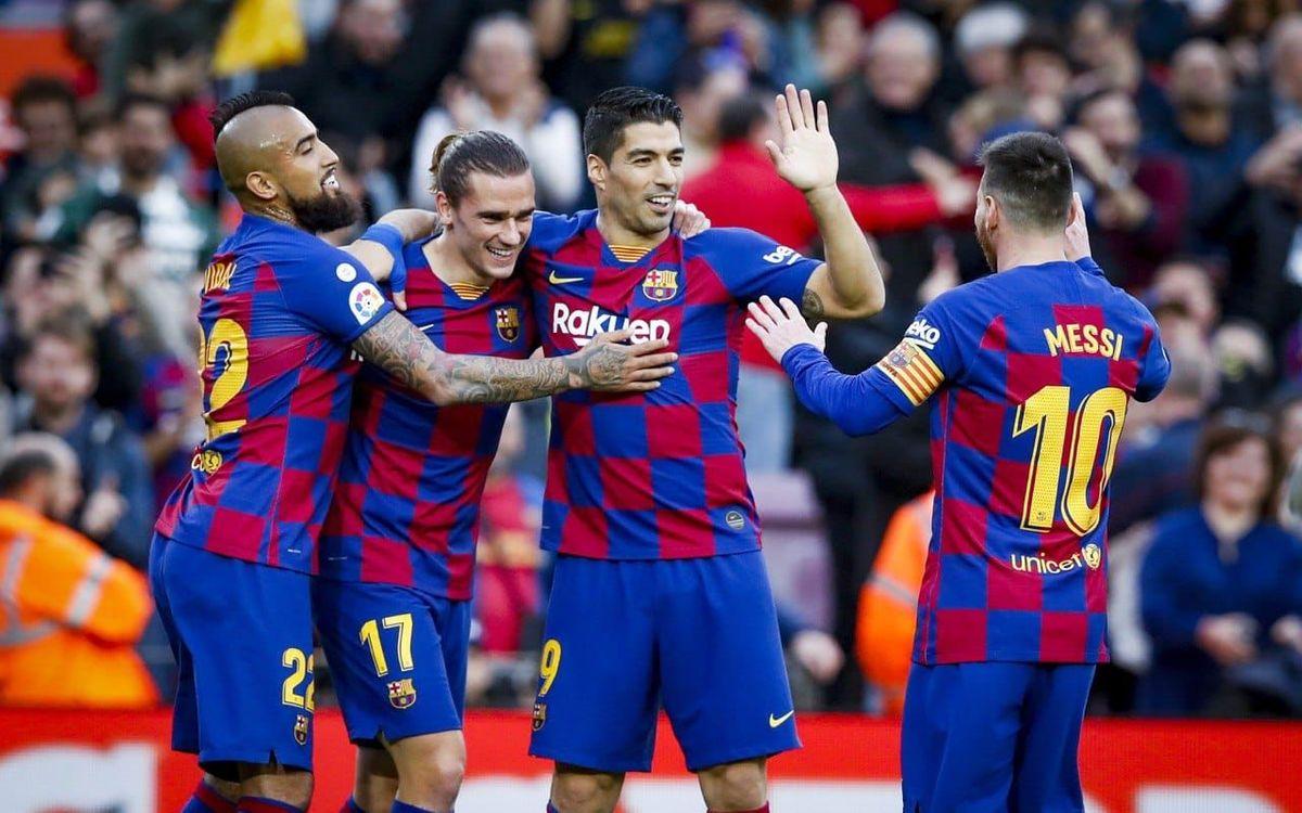 FCバルセロナ – アラベス: 無敵の三銃士(4-1)