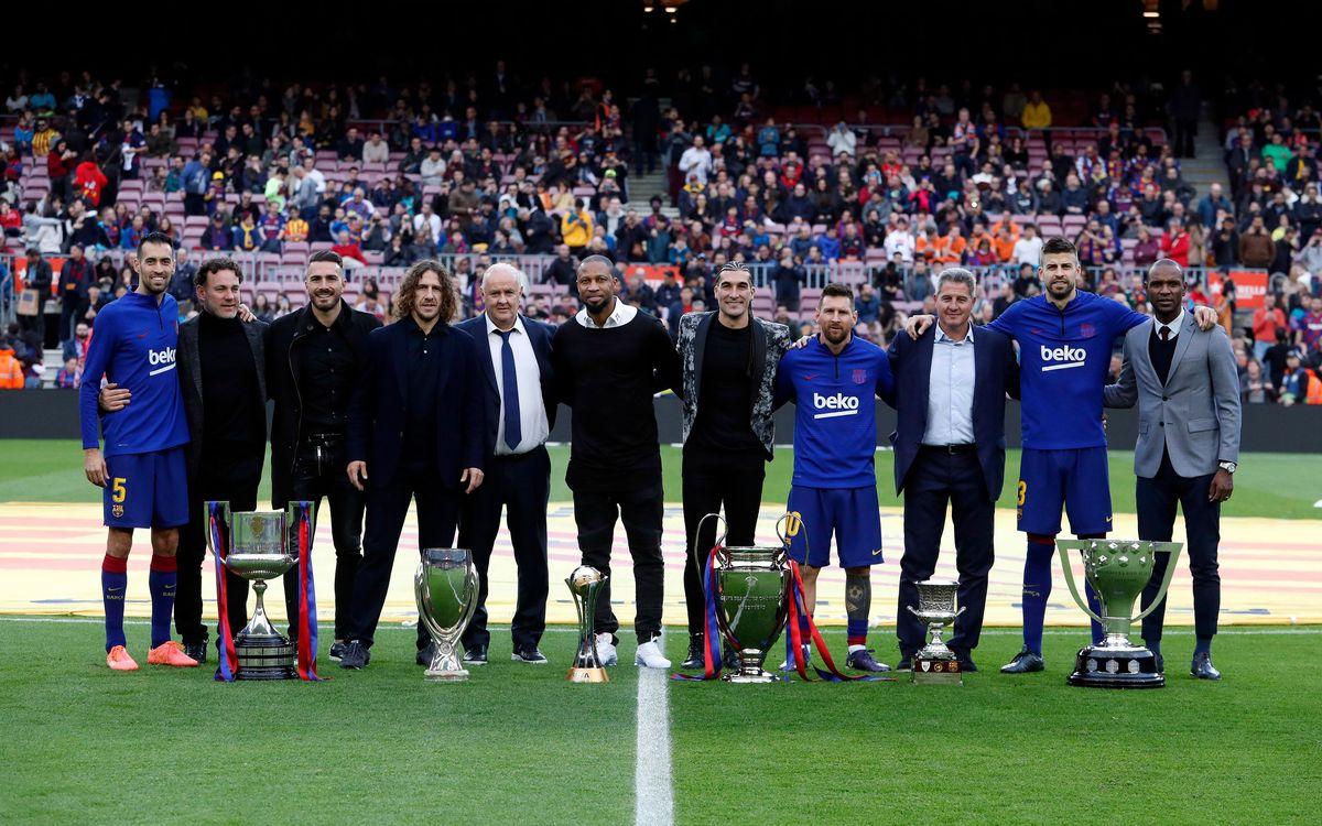 El Sextet, homenatjat al Camp Nou