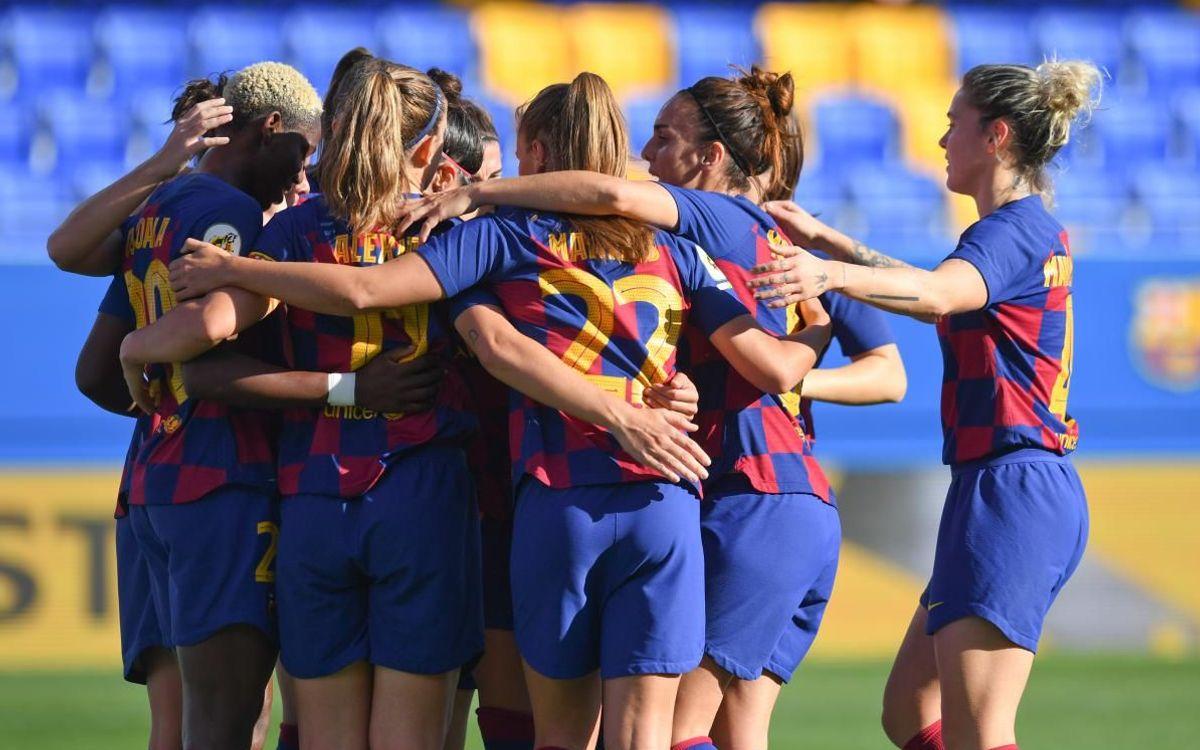 Barça Women 3-1 Granadilla