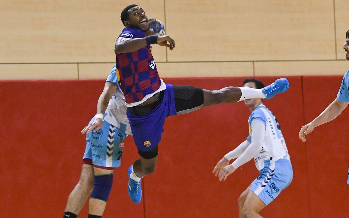Barça B – Trops Màlaga (41-32): Tanquen l'any amb victòria