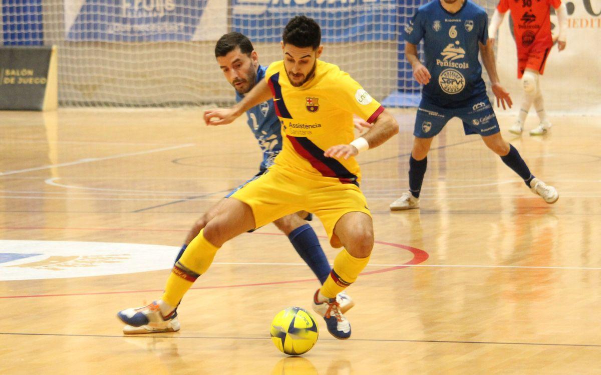 Servigroup Peñíscola 3-1 Barça: Cruel blow