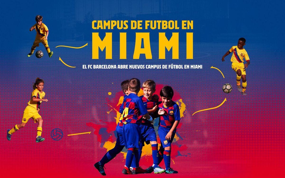Nuevos Campus de fútbol en Miami