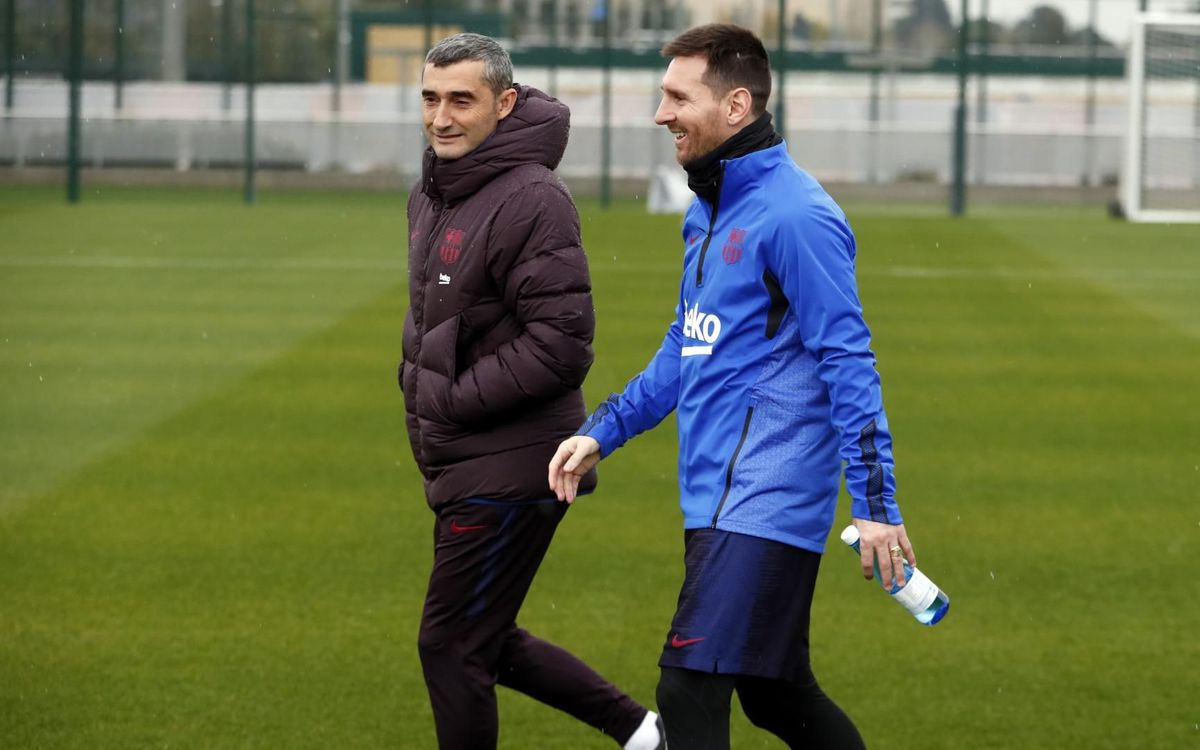 Ernesto Valverde: 'Messi approaches perfection