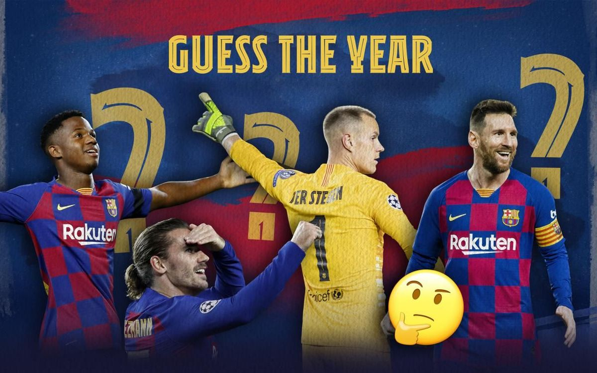 ¡Juega al 'Guess the Year'!