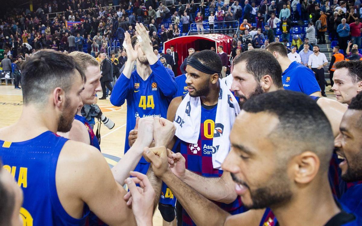 Fin del 2019 como líderes de la ACB y la Euroliga