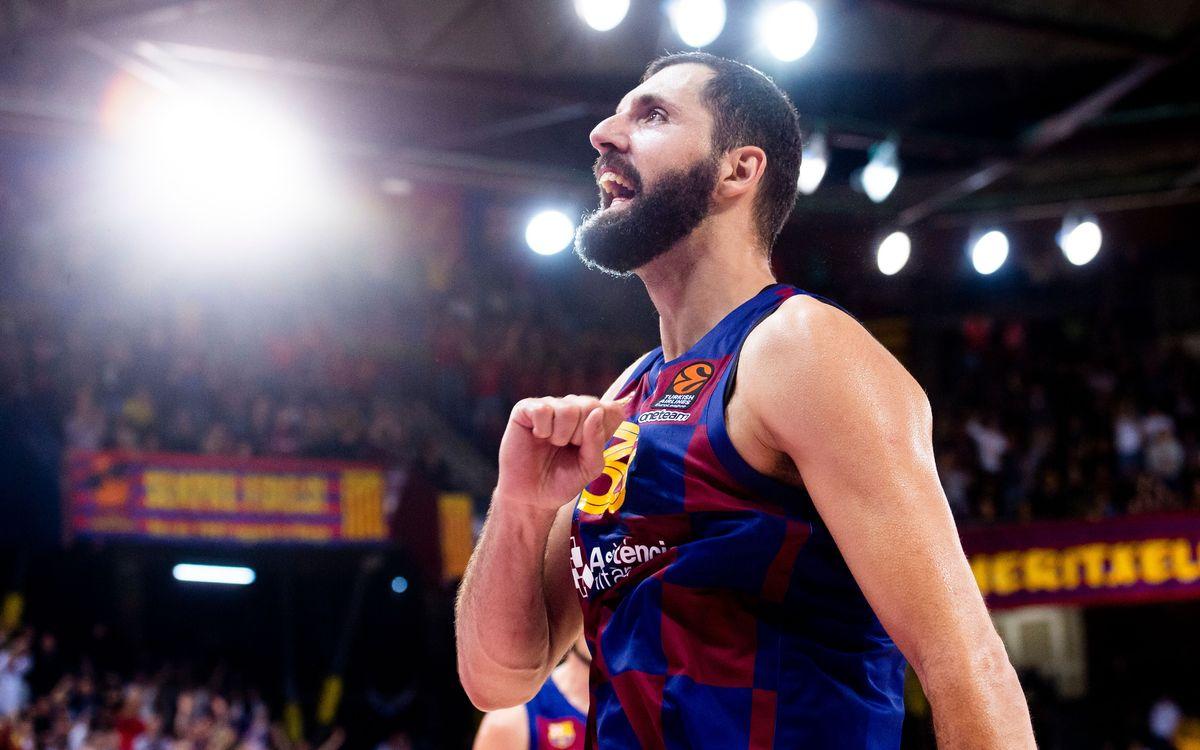 Mirotic, MVP del mes de desembre a l'Eurolliga