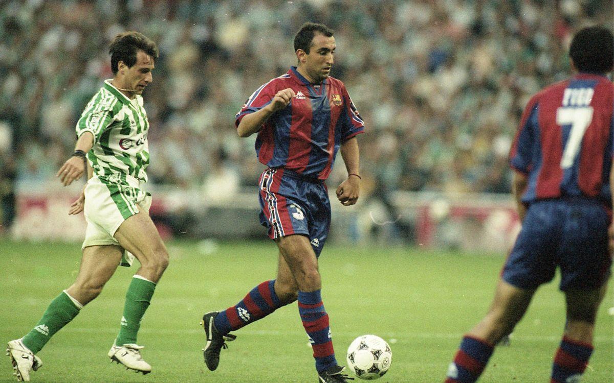 Abelardo se reencuentra con el Barça