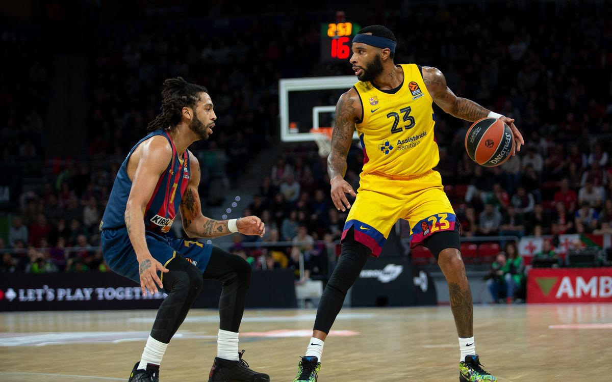 Baskonia-Barça: Reacción culé insuficiente (76-74)