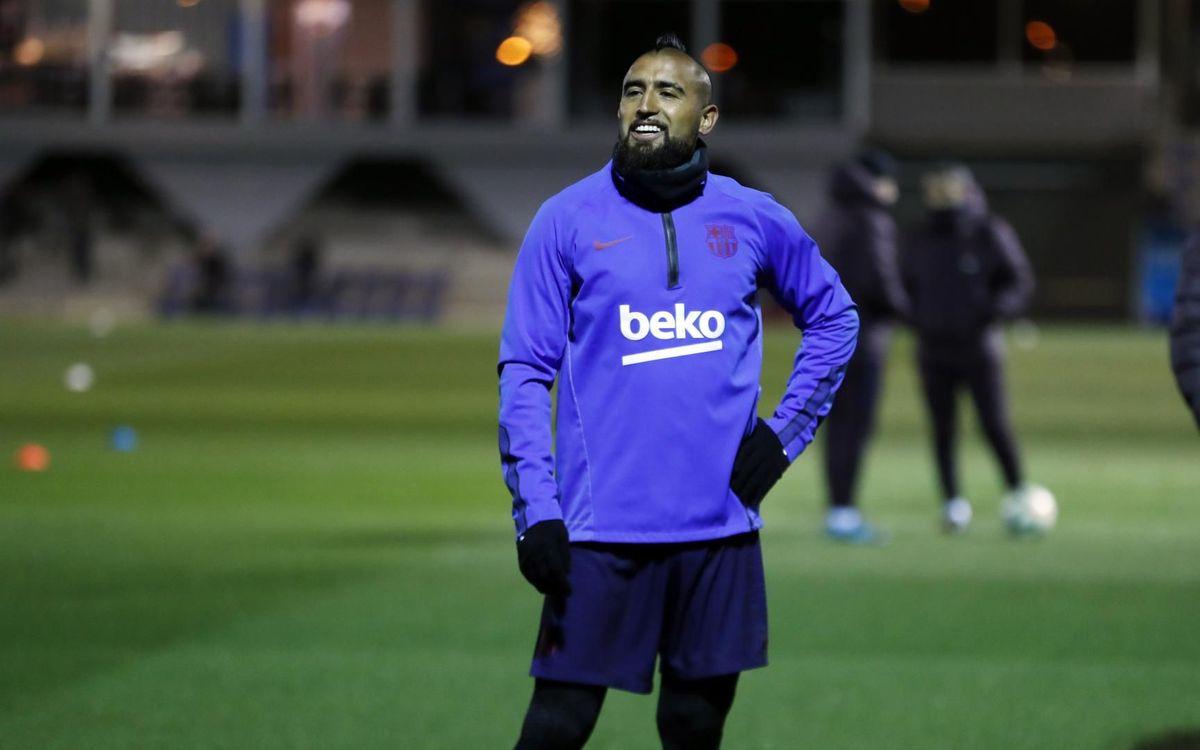 La convocatòria per al derbi contra l'Espanyol