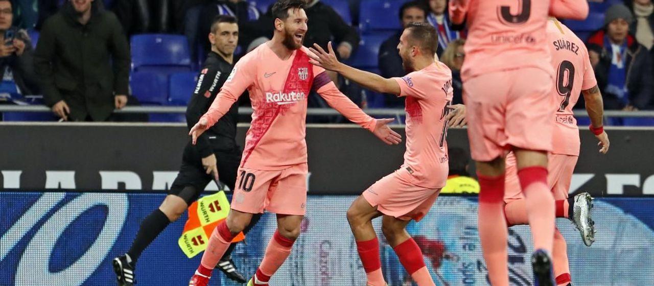 Top 10 Goals At Espanyol
