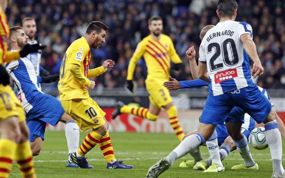 Los cinco datos del FC Barcelona - Espanyol