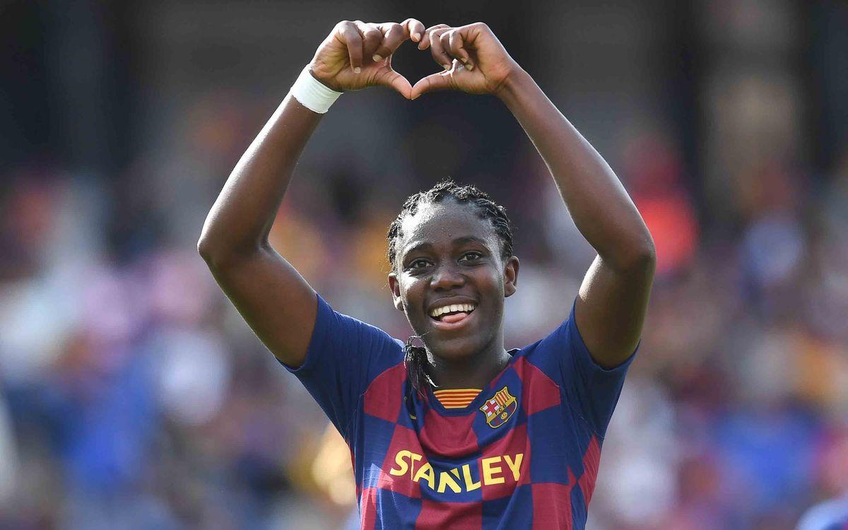 Oshoala, jugadora africana de l'any per quarta vegada