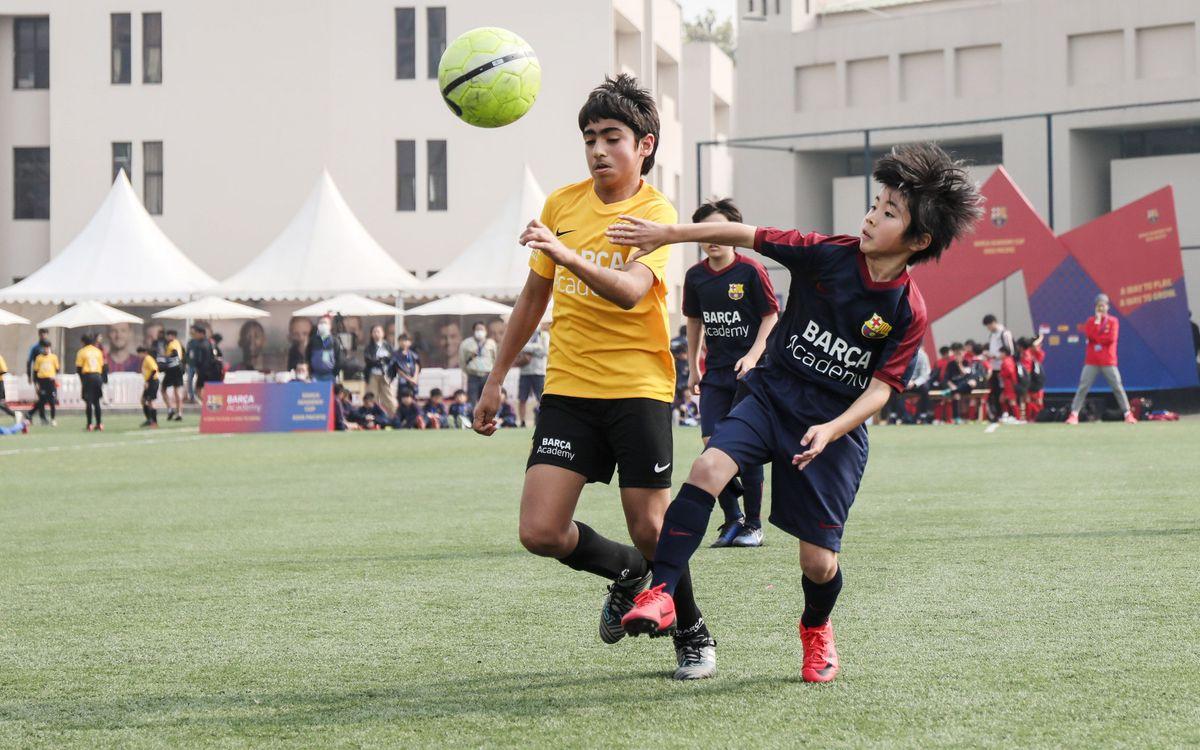 Rècord de països participants a la segona edició de la Barça Academy Cup Àsia-Pacífic