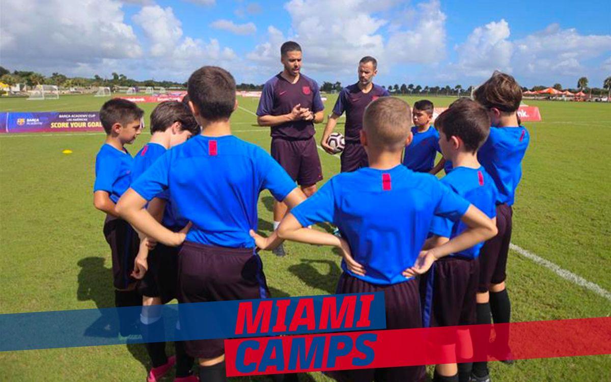 Entrenadores Miami Camps
