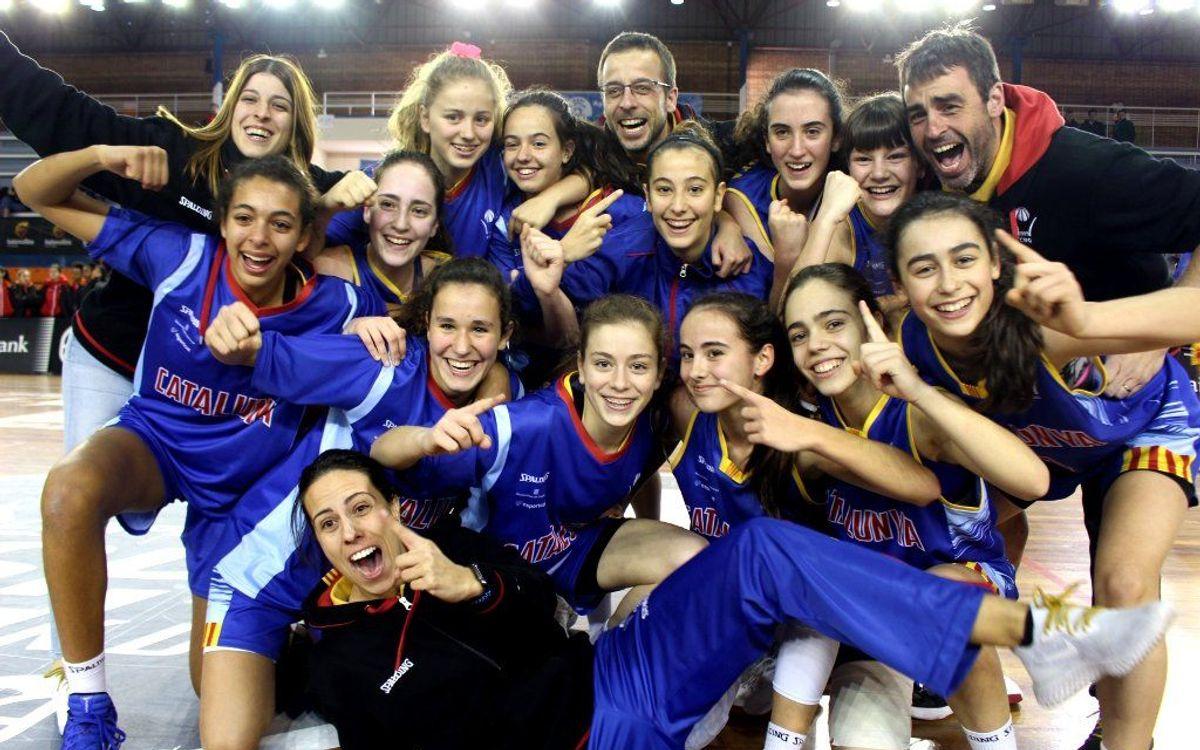 Siete azulgranas campeonas de España