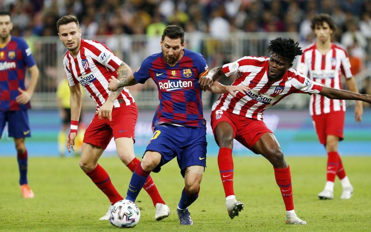 Barça - Atlètic de Madrid: S'escapa la final (2-3)