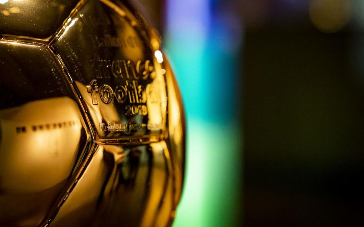 Messi's sixth Ballon d'Or on display at Barça Museum