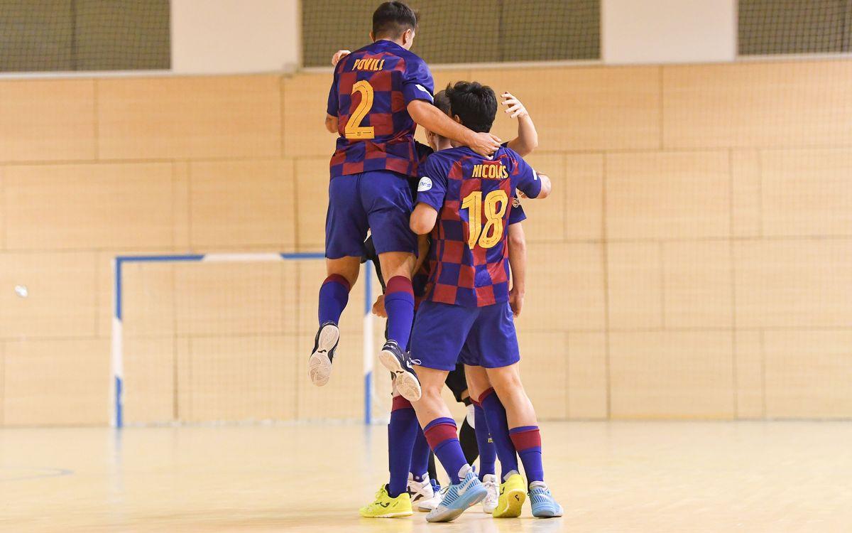 Barça B – El Pozo Ciudad de Murcia (2-3): Derrota injusta, en el duelo de filiales