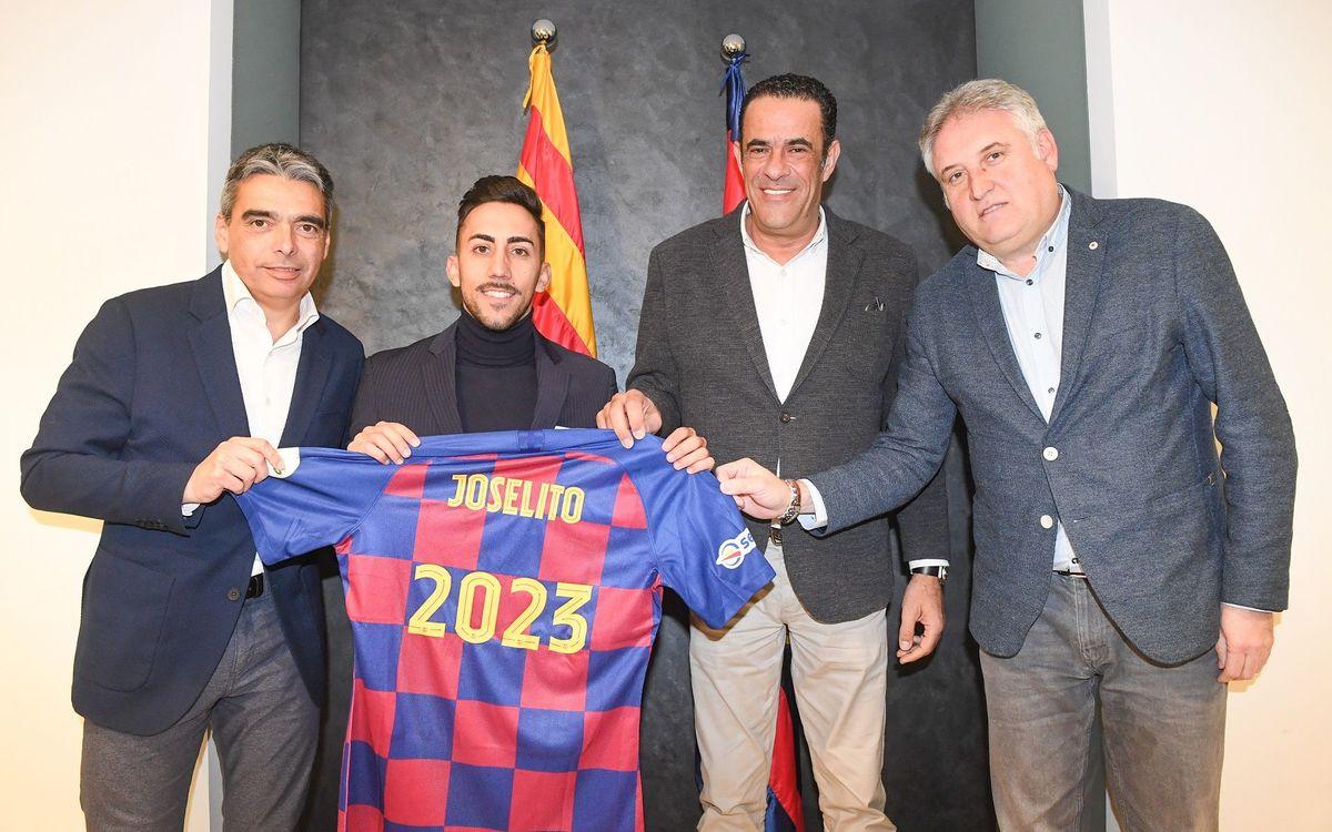 Joselito renova fins al 2023