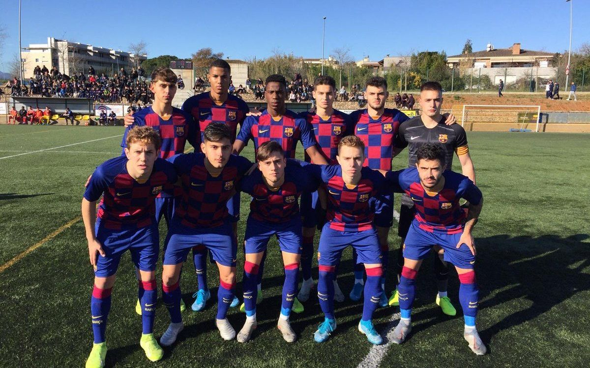 Girona - Juvenil A: Gran victoria para empezar el año (0-5)