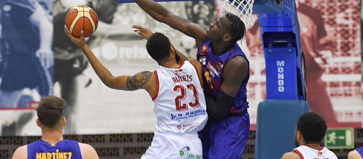 Barça B - Real Murcia Baloncesto (61-63): Esfuerzo sin recompensa