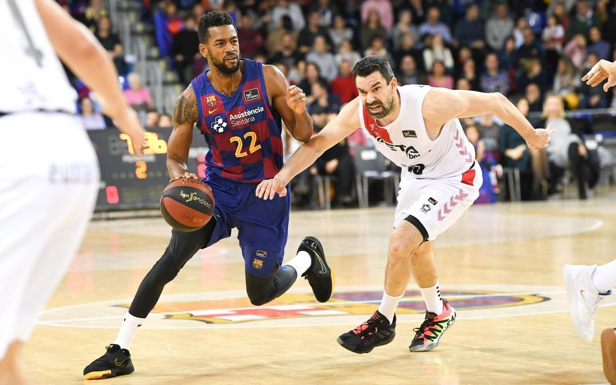 Barça 92-94 RETAbet Bilbao Bakset: Toil without reward