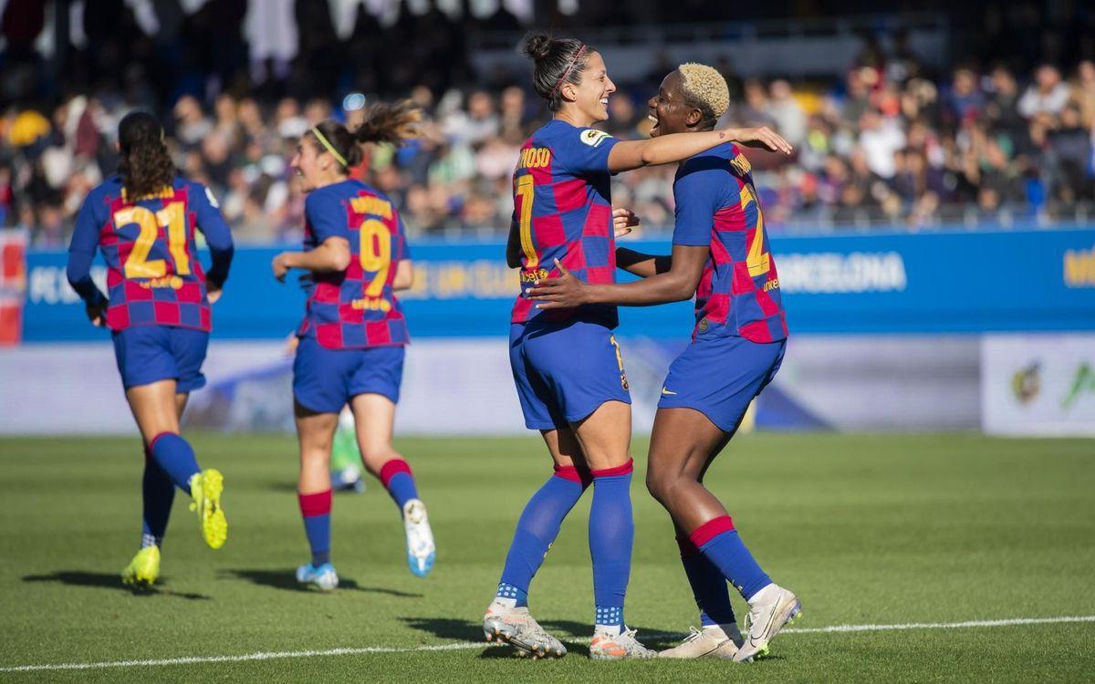 Jennifer Hermoso i Oshoala: una dupla sinònim de gol