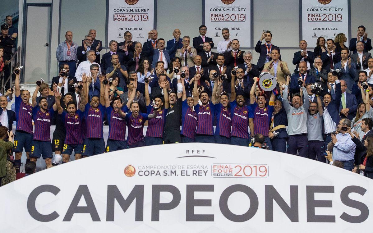 La Copa del Rei de Futsal, a BarçaTV