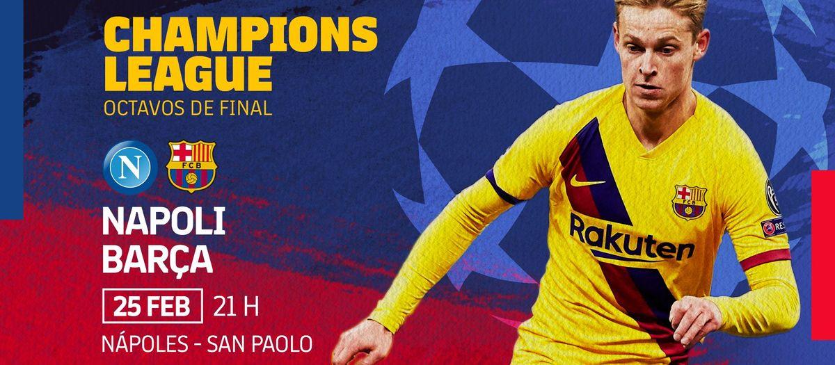 Venta de entradas para el partido de Champions en el campo del Nápoles