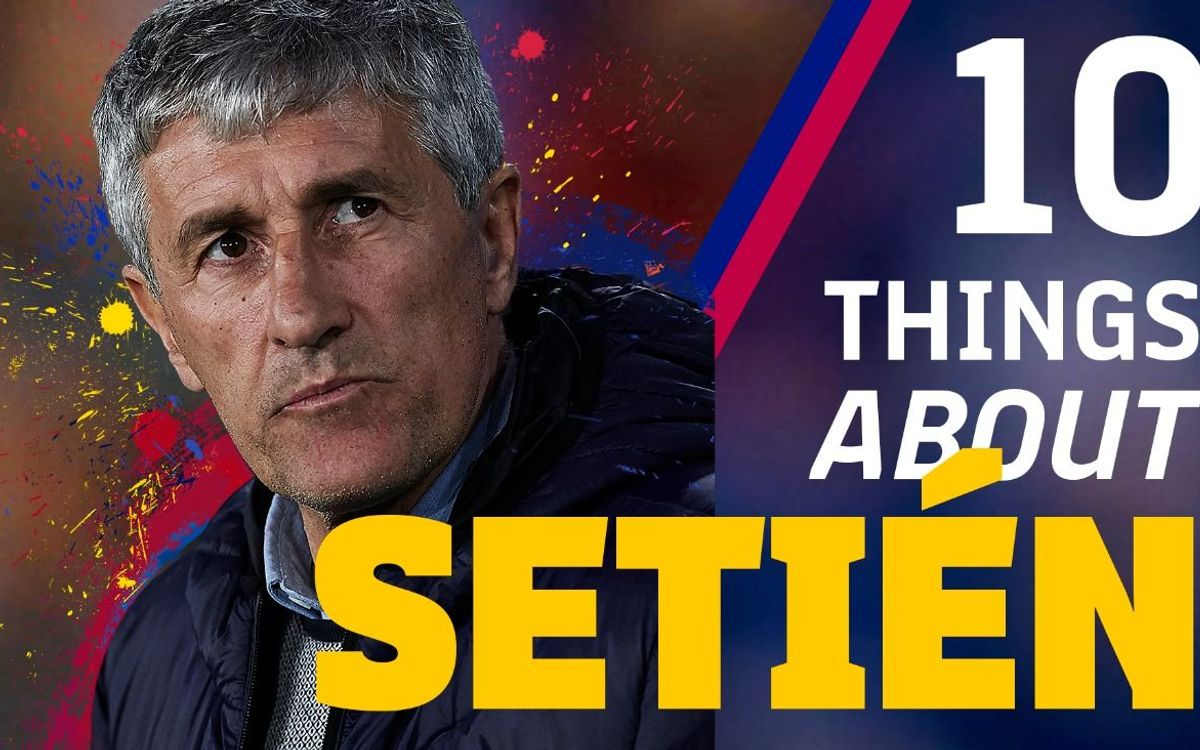 The 10 things you need to know about Quique Setién