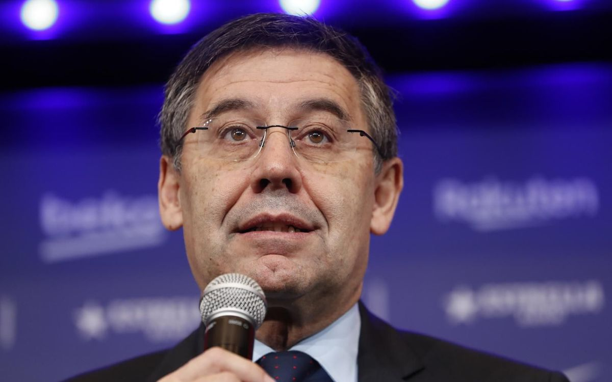 Bartomeu: 'It was necessary to provide a boost to the end of the season'