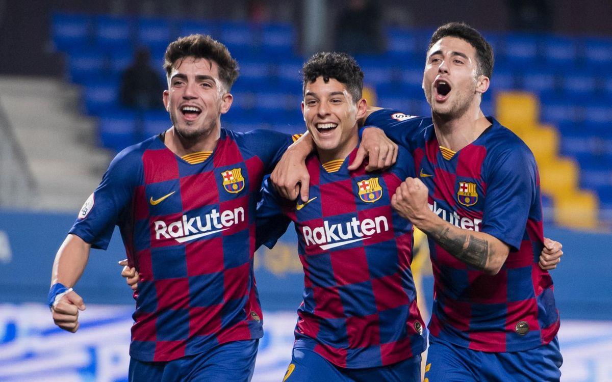 FC Barcelona B – CF Badalona: Remuntada de play-off (2-1)