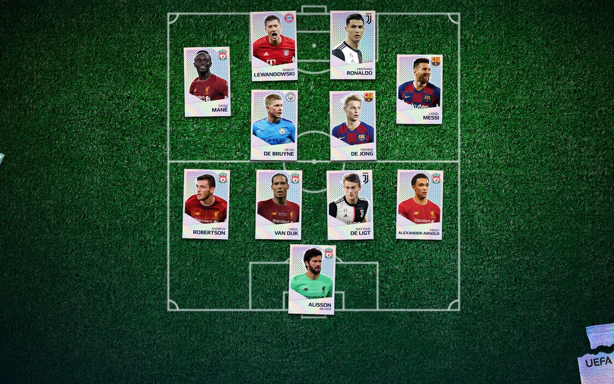 UEFA's Team of the year 2019