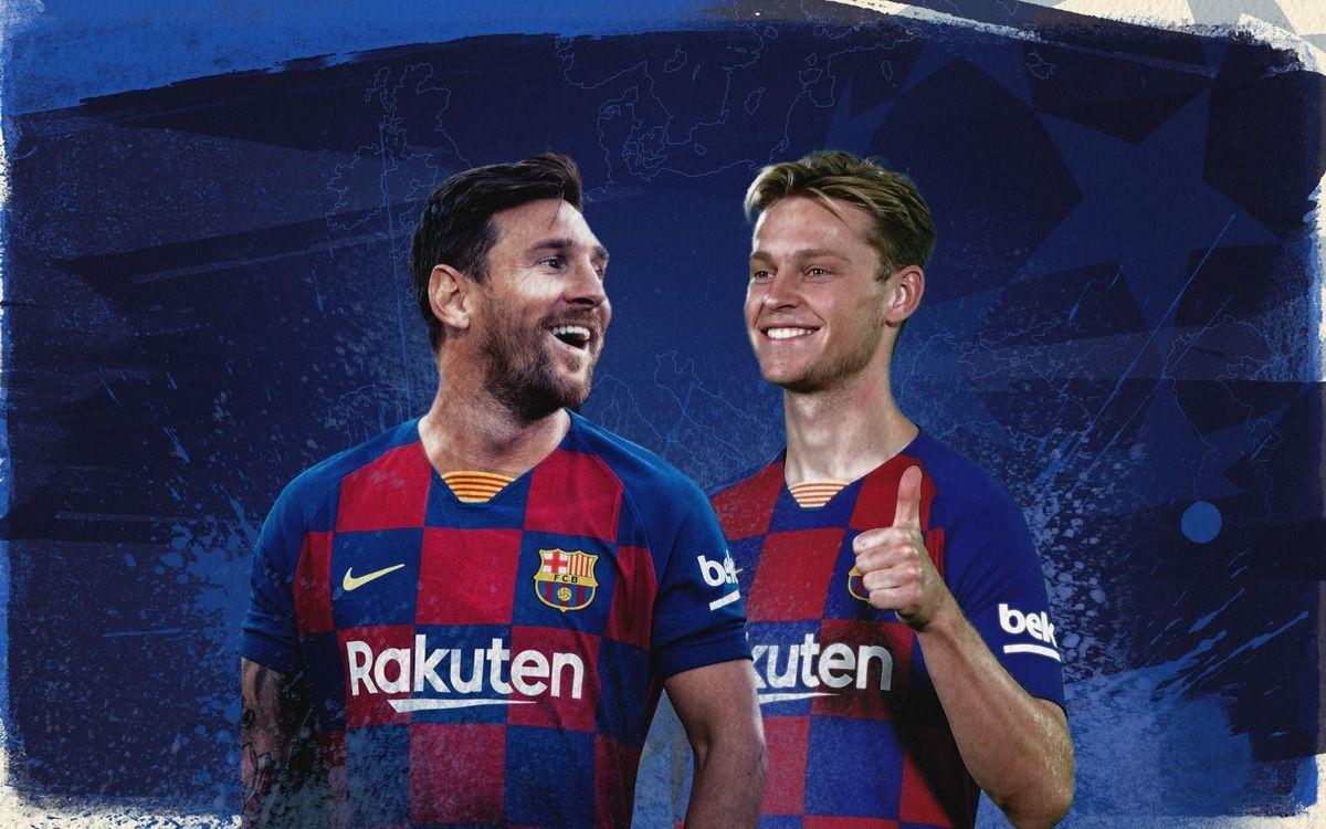 Messi et De Jong, dans le XI idéal de la Ligue des Champions 2019