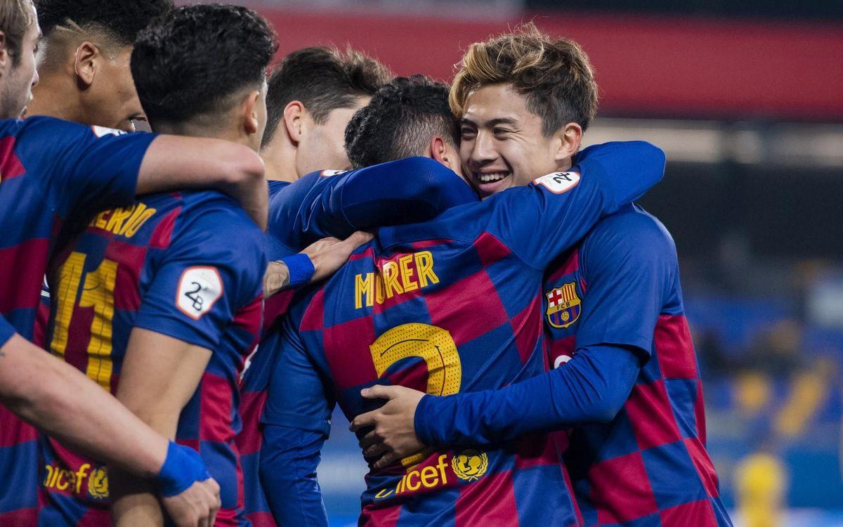 FC  バルセロナ B – CF バダローナ: 逆転でプレーオフゾーンへ (2-1)