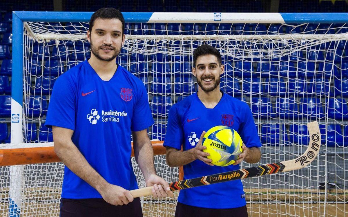 Tarda completa al Palau Blaugrana amb hoquei i futbol sala
