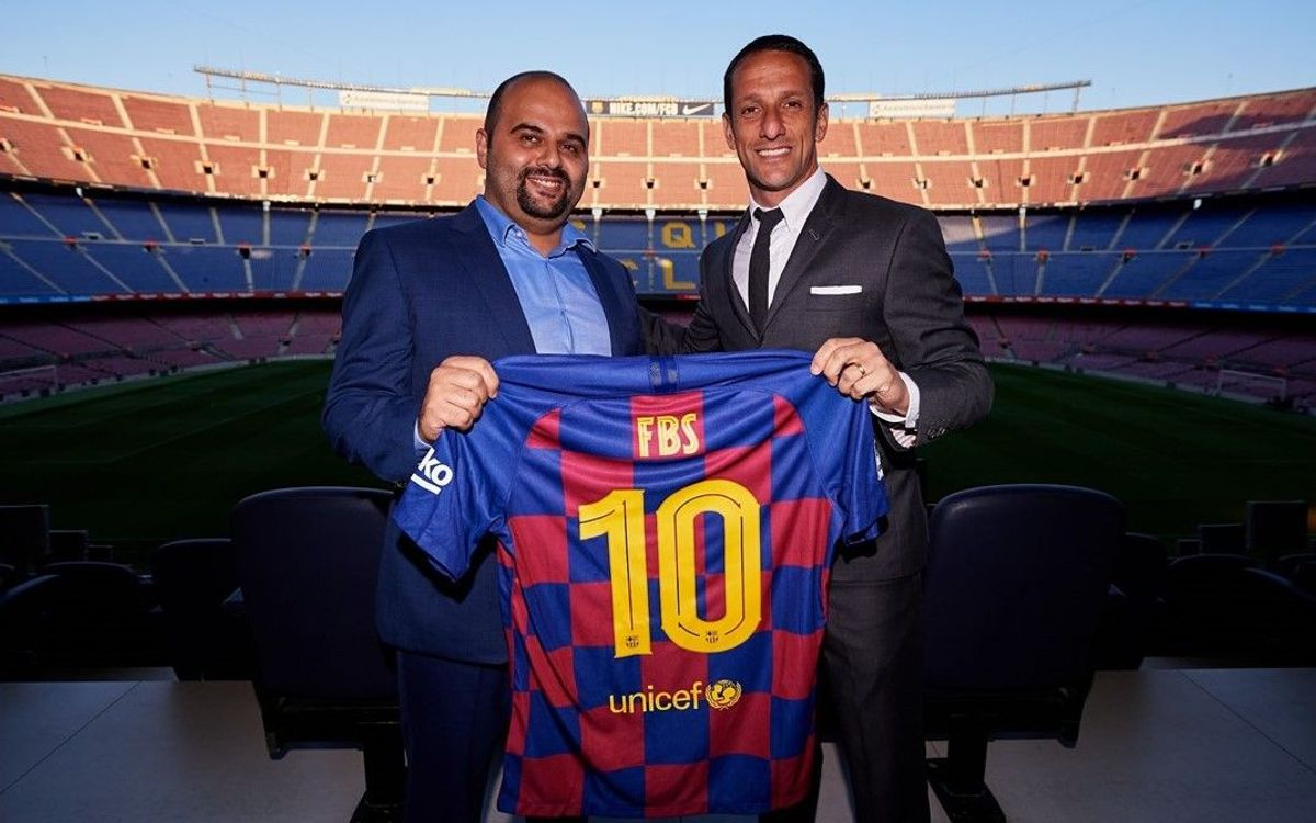 Fc Barcelona And Fbs Sign New Global Partnership Agreement