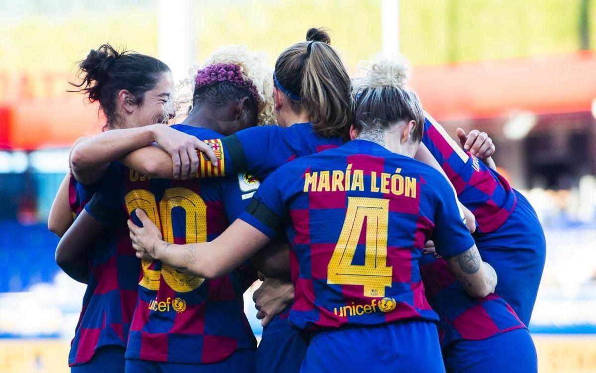 L'Sporting de Huelva, rival del Barça Femení als vuitens de la Copa de la Reina