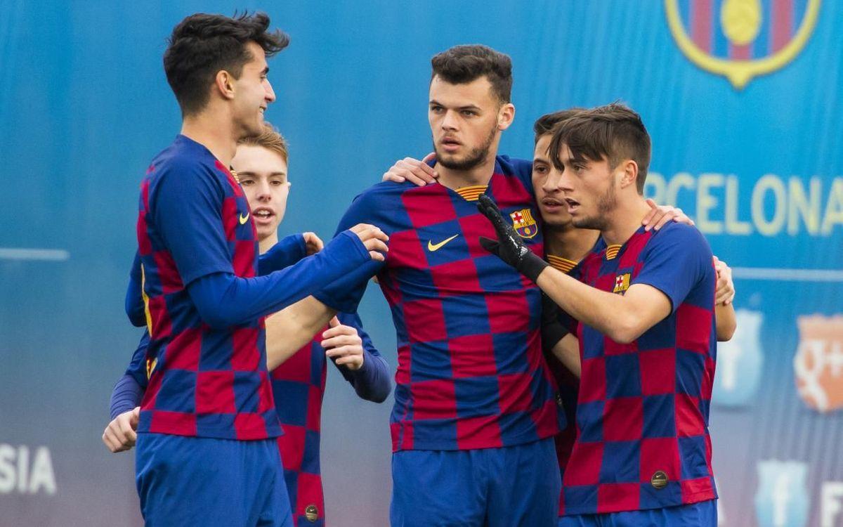 Juvenil A - At. Villacarlos: En la línia a seguir (5-0)