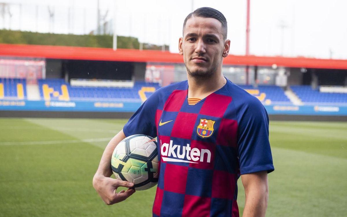 Rei Manaj se incorpora al Barça